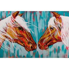 Wild Horses Canvas Wall Art