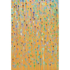 Orange Healing Canvas Wall Art by Helen Joynson