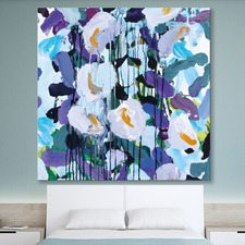 Wisteria 3 Canvas Wall Art