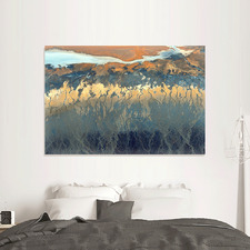 California Aerial Canvas Wall Art