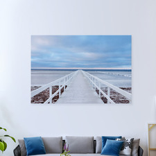 The Jetty Canvas Wall Art