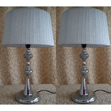 Heather Tapered Drum Table Lamp (Set of 2)