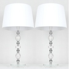 Daphne Ribbon Shade Table Lamp (Set of 2)