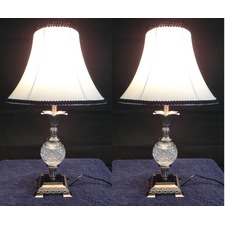 Florence Table Lamp With Black Rim (Set of 2)