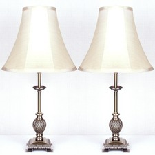 Lily Iron Table Lamps (Set of 2)