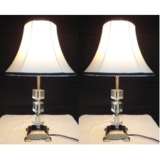 Poppy Table Lamp With Black Rim (Set of 2)