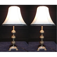 Primrose Table Lamp With Black Rim (Set of 2)