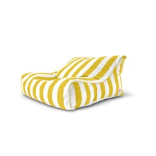 Torres Del Striped Double Lounger Outdoor Beanbag Cover