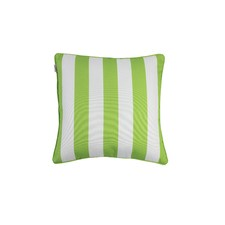 White Striped Outdoor Cushion