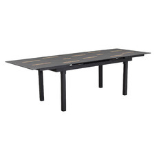 Charcoal Berkeley Extendable Outdoor Dining Table