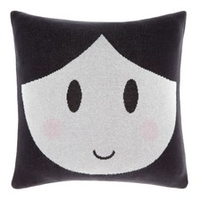 Black Dollface Cushion