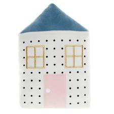 White Novelty Dollhouse Cushion