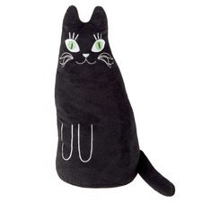 Black Cat Novelty Cushion