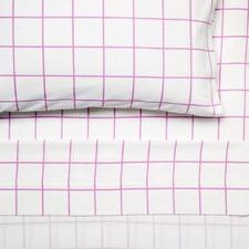Pink Blanky Flannelette Sheet Set