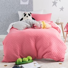 Bubblegum Obi Cotton Quilt Cover Set