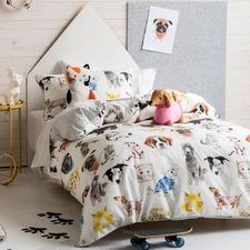 Pet Life Cotton Quilt Cover Set