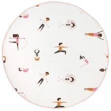 Yoga Pose Cotton Play Mat