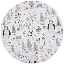 Into The Woods Cotton Play Mat