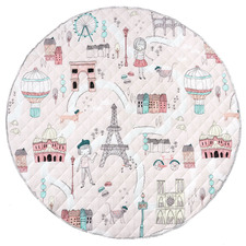 Pink I Dream Of Paris Cotton Playmat