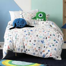 Little Monsters Cotton Quilt Cover Set