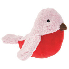 Pink Cherry Bird Novelty Cushion