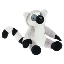 Grey Lorenzo Lemur Novelty Cushion