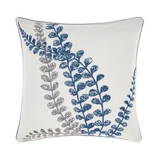 Grey Evette Square Cushion