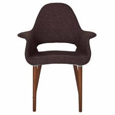 Eames Replica Saarinen Organic Chair- Dark Brown