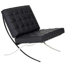 Barcelona Leather Chair Replica Premium