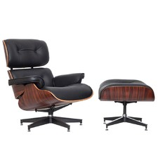 Eames Classic Replica Lounge Chair & Ottoman