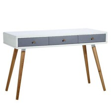 Vasby 3 Drawer Scandinavian Style Console Desk