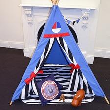 Sailor Kids Teepee Play Tent