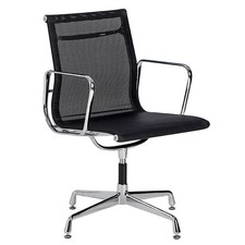 Eames Replica Mesh Aluminium Visitor Office Chair
