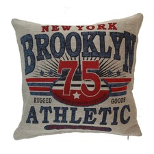 Jacquard Cushion - Brooklyn