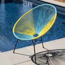 PE Rattan Acapulco Chair Replica