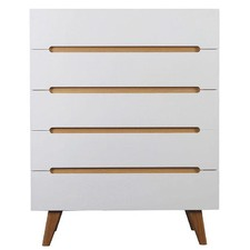 Finn Scandinavian Chest of Drawers with 5 Drawers