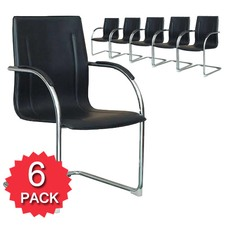 Office Cantilever Visitor Chair (Set of 6)