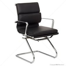 Soft Pad Management Visitor Chair - Eames Reproduction
