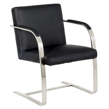 Brno Replica Leather Visitor Office Chair