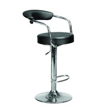 Azzuro Adjustable Suspended Back Swivel Bar Stool