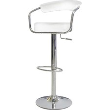 Azzuro Adjustable Padded Swivel Barstool