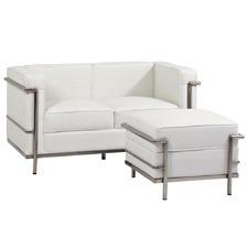 Le Corbusier Replica LC2 2 Seater Sofa