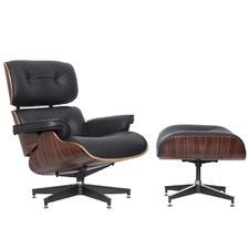 Eames Premium Replica Lounge Chair & Ottoman