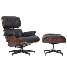 Premium Eames Replica Lounge Chair & Ottoman