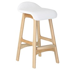 72cm Erik Buch Replica Natural Wood Bar Stool