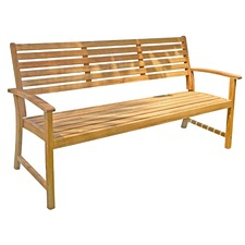 Vigo 3 Seater Outdoor Timber Bench