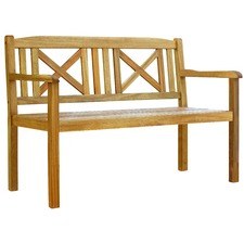 Palencia 2 Seater Outdoor Timber Bench