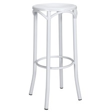 Replica Steel Bentwood Bar Stool