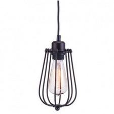 Oval Industrial Workshop Cage Pendant Light