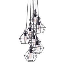 Industrial Workshop Cage Pendants